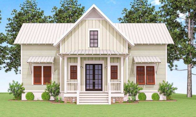 Delightful Cottage House Plan Lls Architectural