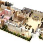 Delightful Floor Plans Photorealistic