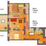 Della Croce Floor Plan Large Three Bedroom Apartment Terrace