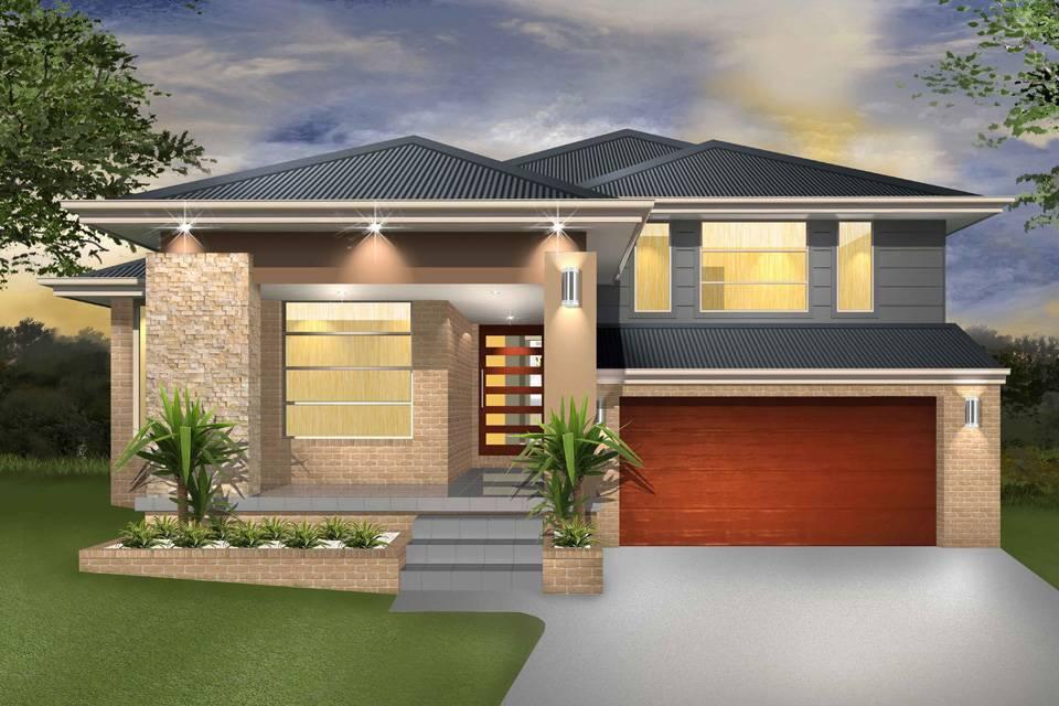 Denman Split Level Sloping Block Marksman Homes