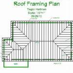 Describe Construction Typical Frame Roof