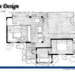 Design Architecture Cabin Hand Drawn