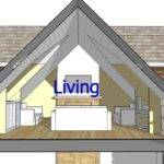 Design Attic Roof Home Dormers Using Sketchup