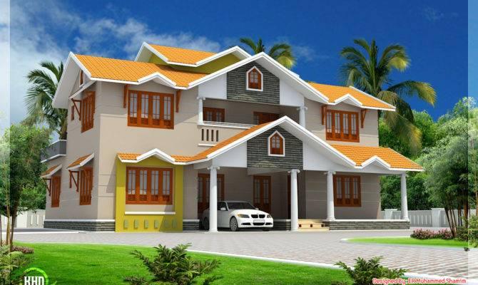 Design Dream House Exterior Home Deco Plans