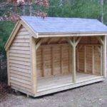 Design Elements Firewood Shed Plans Building