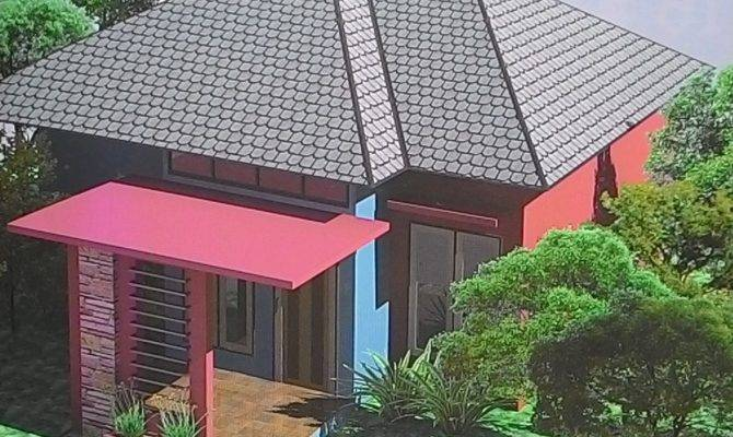 Design Houses Unique Terrace Pyramid Roof Tiny House