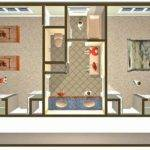 Design Jack Jill Bathroom Floor Plans Pinterest
