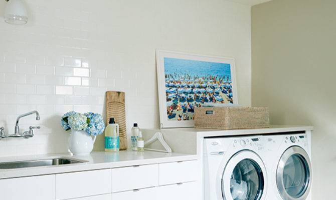 Design Lesson Stylish Second Floor Laundry Room Style