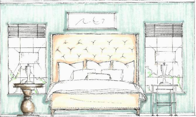 Design Sketches Bedroom Sketch