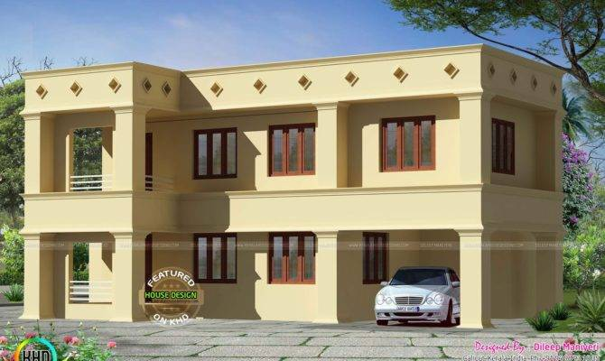 Design Style Arabic Flat Roof House Woody Nody