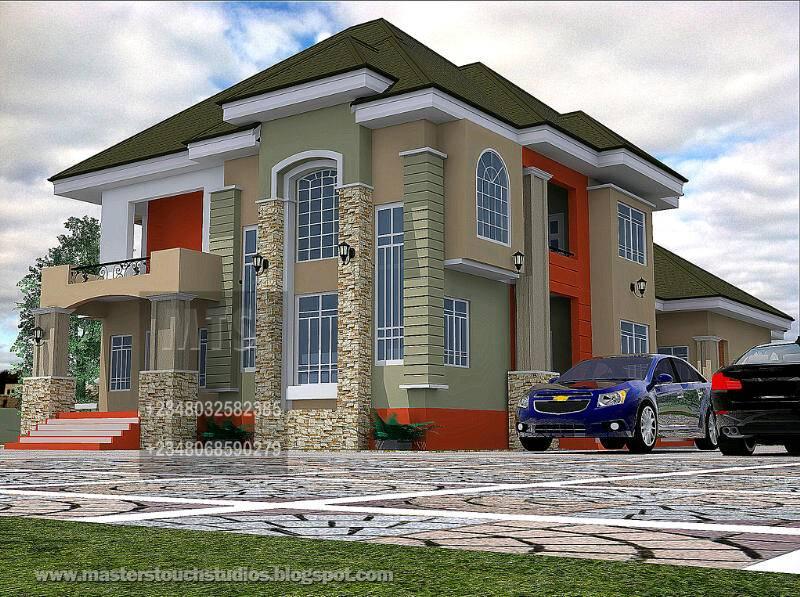 Designs Duplex House Nigeria Like Architectural Home Plans Blueprints 19465
