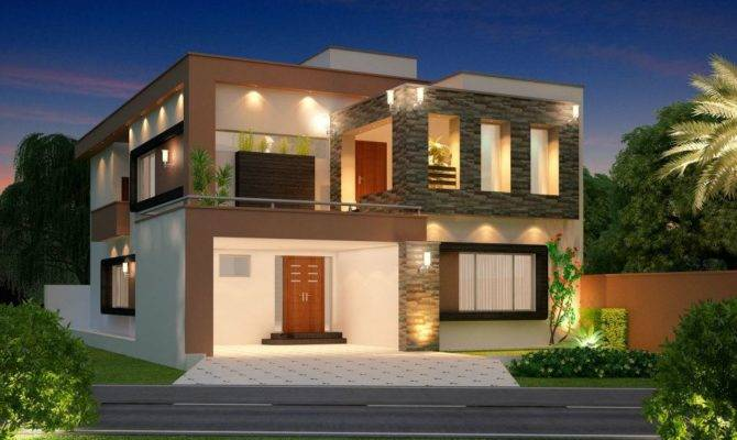 Designs Small Houses New House Front Elevation