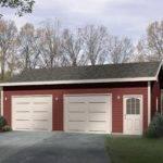 Detached Drive Thru Garage Plan Cad Available