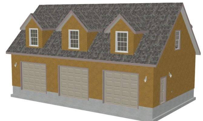 Detached Garage Bonus Room Plans