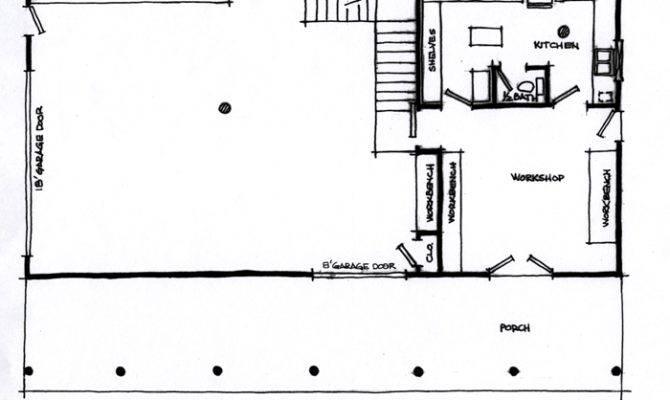 Detached Garage Floor Plans