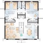 Detached Garage Plan Upper Floor