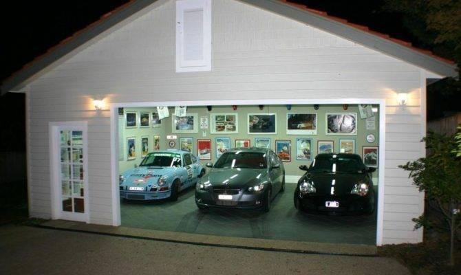 Detached Garage Plans Man Cave Home Desain