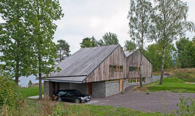 Detached House Scenic Views Fjords Norway