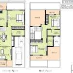 Detached Row House Plans Home Design Style