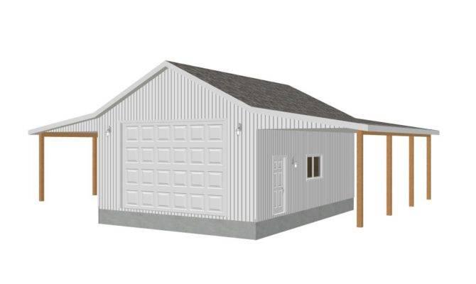 Detached Shop Plans Garage