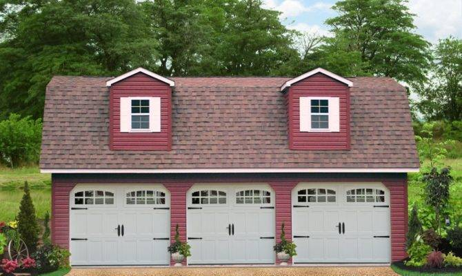 Detached Three Car Garages Sale