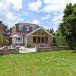Detached Two Bedroom Chalet Bungalow Living Room Dining