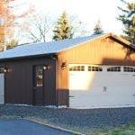 Detached Two Car Garages Amish