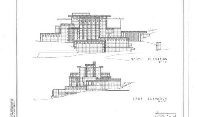 Details Frank Lloyd Wright California Concrete Block Home
