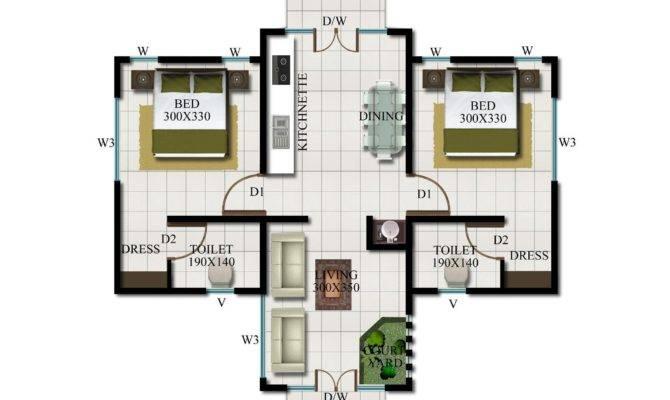 Diamond Villa Sqft Plan