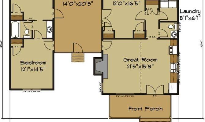 Diana Dog Trot Dogtrot Cabin Floor Plan