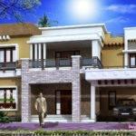 Different Views Modern Home Kerala Design