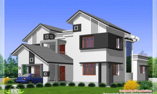 Diffrent Type House Designs Kerala Home Design Floor Plans