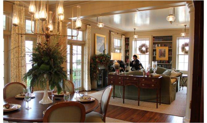 Dining Room Living Connected Kitchen Big Rolling