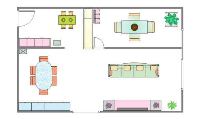 Dining Room Plan Templates