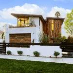 Dise Casa Moderna Dos Pisos Fachada Interiores Construye