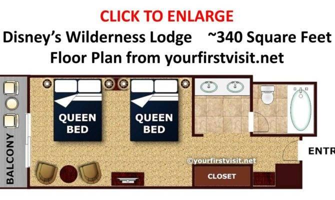 Disney Wilderness Lodge Standard Room Floor Plan Yourfirstvisit