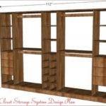 Diy Closet Shelf Plans Pdf Coffee Table Storage