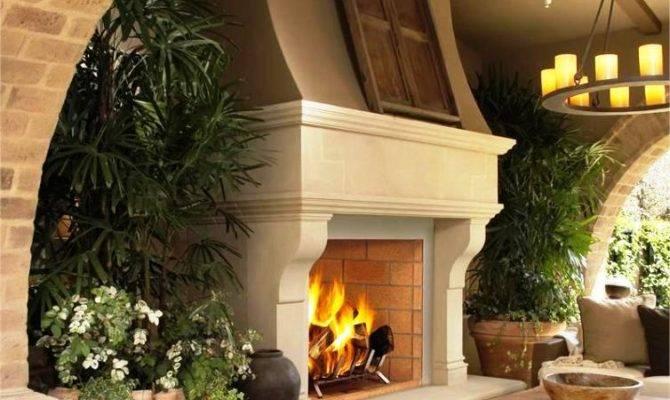 Diy Outdoor Fireplace Designs Plans