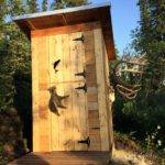 Diy Outhouse Plan Tutorial