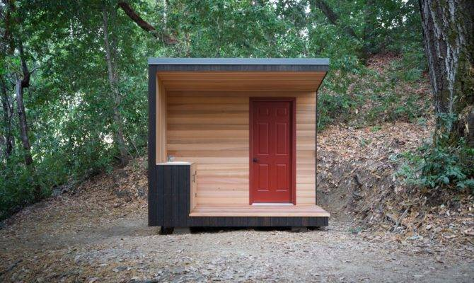 Diy Project Build Your Own Modern Outhouse Dwell