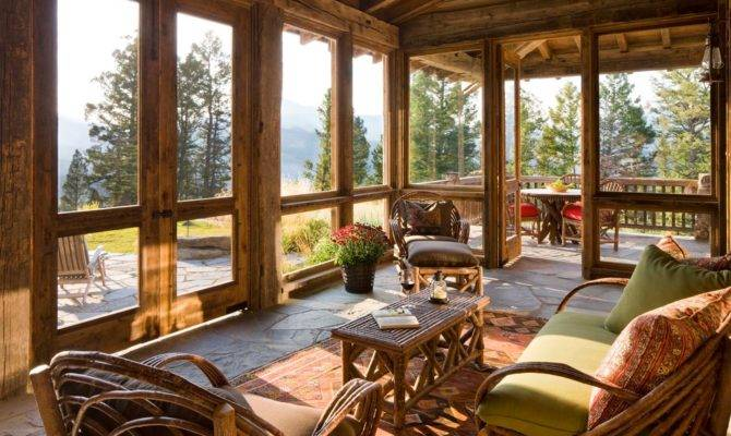 Doesn Love Great Screened Porch During Fall Spring