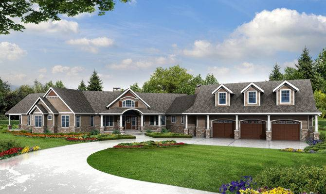 Dog Friendly House Plan Country Home Luxury
