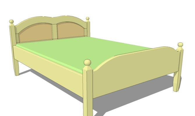 Double Bed Plans