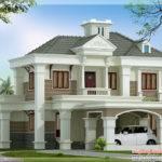Double Floor Home Design Architecture House Plans