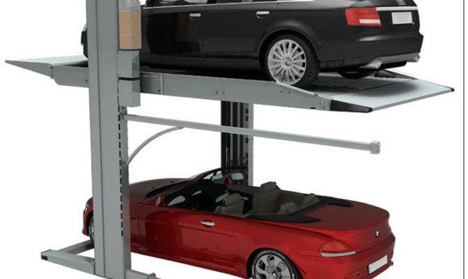 Double Parking Car Lift Level Home