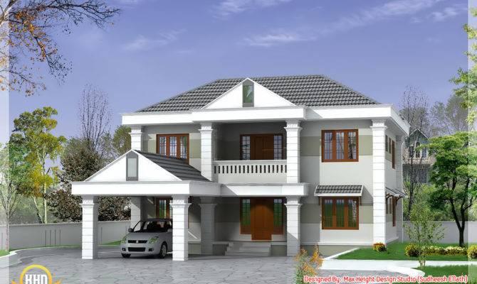 Double Storey Home Design Kerala