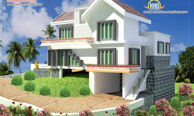 Double Storey Home Designs Kerala