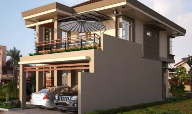 Double Storey House Plans Balcony Ideas Home Design