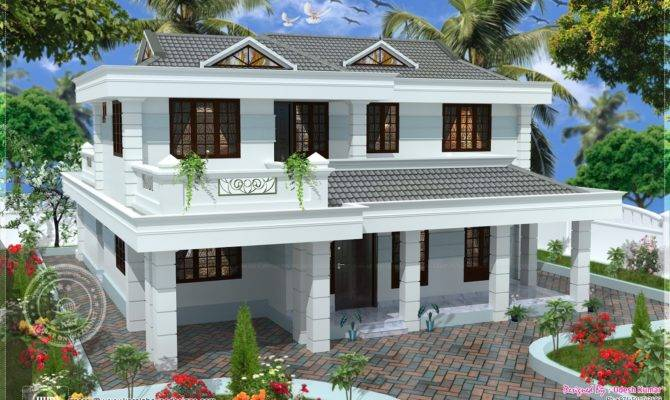 Double Storey House Plans Balcony