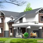 Double Story Home Design Kerala Floor